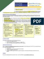 PIA Program Marketing Pamphlets