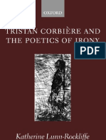 Tristan Corbiere and the Poetics of Irony