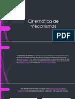 Cinemática de mecanismos