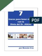 7 Trucos Para Tener Xito Con Dieta Atkins