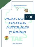 Plan Anual Cs Naturales 7