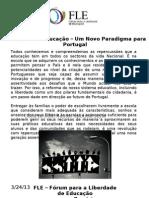 Liberdade de Educação - Um Novo Paradigma para Portugal
