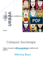 Bour-Tribus Urbanas Trabajo de Sociologia