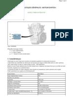 caractéristiques générales moteur dv6ted4 diesel turbo dv6ted4 fap