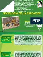 Presentación SOCIOLOGIA