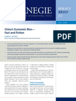 China's Economic Rise—Fact and Fiction