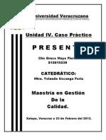 ACTIVIDADES UNIDAD IV. Caso Práctico