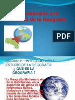 Introduccion a La Ciencia Geografica