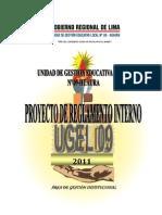 REGLAMENTO INTERNO (RI) - UGEL N° 09 HUAURA - 2011