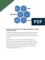 Economía chilena. Atraso en el sector intangible.