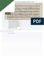 Andante Per Il Flauto Traverso _ Manuscript Von Mozart _ 1778 (Manuscrit Autogra