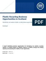 Plastics Recycling Business Opportunities Report - IfM002-001