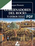Jacques Roumain-Gobernadores del rocío y otros textos