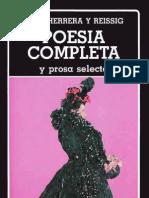 Julio Herrera y Reissig-Poesía completa y prosa selecta