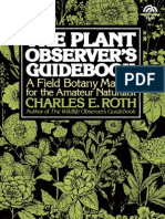 Plant Observer's Guidebook