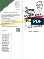 Carnegie Dale - Camino Para Hablar Eficazmente