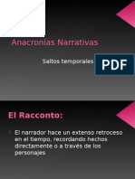 Anacronías Narrativas NM4 2013