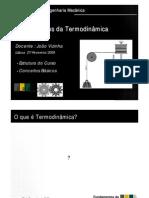 FundTermo Aula 01 Introducao