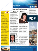 Business Events News for Mon 25 Mar 2013 - Ambassadors to work with SES
