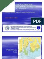 Two-dimensional hydrodynamic numerical modeling in Muara Pegah Waters, East Kalimantan