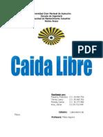Informe - Caida Libre 2012