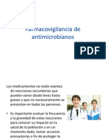 Farmacovigilancia de antimicrobianos2013.ppt