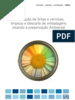 WEG Preparacao de Tintas e Vernizes e Limpeza de Embalagens Manual Portugues Br