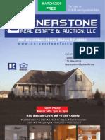 Cornerstone March 2009 Issue