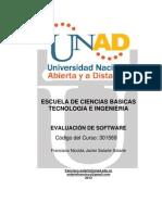 Guia Didactica de Evaluacion de Software 2013