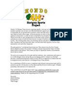 Hondo 4-H Letter of Support