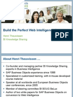Perfect Web Intelligence Report 20091018