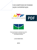 2013 26 dez 2012 WTF Poomsae tradução