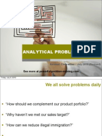 Analytical Problem Solving