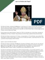 O que é a Profecia dos Papas
