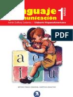 Lenguaje y Comunicación - 1 Básico Silabario Hispanoamericano