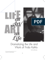 Dramatizing the Life and Art of Frida Kahlo