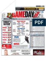 Senators gameday
