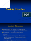 Anxiety Disorders-For Class