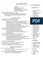 t oneill resume 1 page