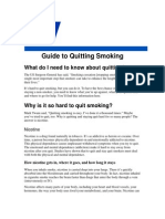 Guide to Quit Smoking