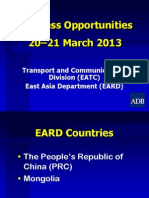 4 Transport ICT - EARD by Cai Li rev 19Mar2013