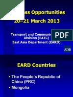 4 Transport ICT - EARD by Cai Li rev 19Mar2013