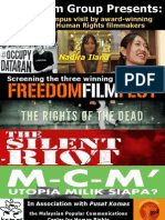 The Rights of The Dead screening at Nottingham University Malaysia