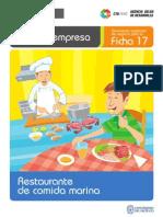 Ficha Extendida 17 Restaurante de Comida Marina