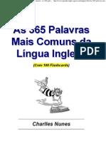 As 365 Palavras Mais Comuns Da Lingua Inglesa Amostra as 365 Palavras Mais Comuns Da Lingua Inglesa Amostra