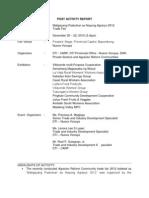 Paskuhan Sa NV Post Activity Report