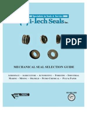 5//8 In. 131100 FLINT /& WALLING Mechanical Seal,Buna N,Dia