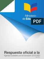 MinEduc Respuesta Oficial CSE 2013