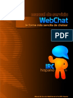 MANUAL WebChat de IRC-Hispano 1.0