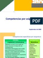 Competencias 2009
